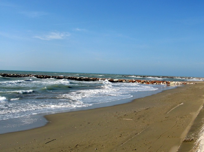 Beach at Eraclea Mare