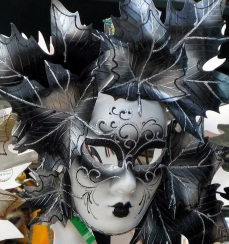 Venetian carnival masks