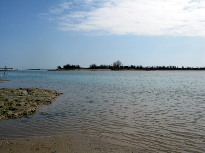 Lagoon at Eraclea Mare